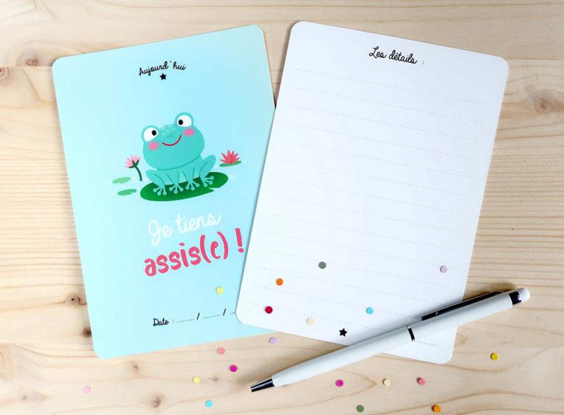 coffret cartes étapes premières fois bébé petits et grands progrès découvertes papeterie cadeau naissance souvenirs kit